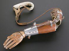 Prosthetic Arm Alexander Pringle & Thomas Kirk, 1920. Belfast, Northern Ireland Science Museum, London 1999.52