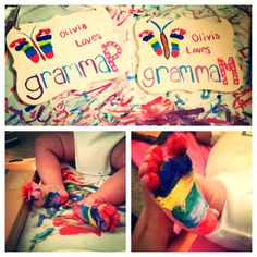 Mother's Day DIY for Gramma's !