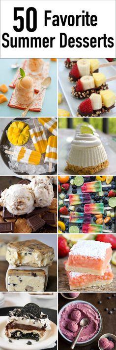 Summer Dessert Ideas - Delicious summer desserts