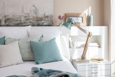 Recursos para cambiar de habitación: de niños a adolescentes – Deco Ideas Hogar Home Bedroom, Bedrooms, Closet Organization, Decoration, My Room, House Tours, Ideas Para, Throw Pillows, Nice