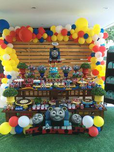 Aniversário Thomas e seus amigos - Thomas and friends