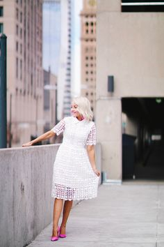What to wear with your white dress