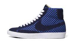 Las Blazer de Nike empiezan el año a cuadros con Woven Pack