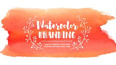 Stand out from the crowdwith a creative, colorful and custom watercolor logo! In this class, we'll create our own custom watercolor logos by establishing thoughtful logo font choices and learn how to incorporate and mask textures into vector elements and typography. At the end of this class, you'll be able to create your own watercolor logo using Illustrator or Photoshop. Use your newly created logos for your social...