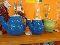 Cute pottery creamers and small pitchers