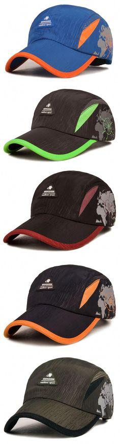 Mens Unisex Breathable Snapback Quick-dry Baseball Cap Outdoor Sunscreen  Anti-UV Dad hat dcff20b90655