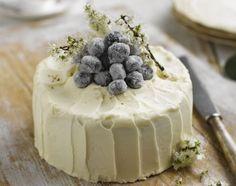 Country Vanilla Sponge Cake