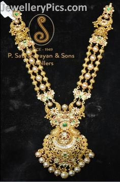 Latest Indian Jewellery designs and catalogues in gold diamond and precious stones Indian Jewellery Design, Latest Jewellery, Indian Jewelry, Jewelry Design, Cz Jewellery, Temple Jewellery, Wedding Jewelry, Gold Jewelry, Gold Necklaces