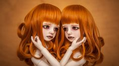 By TESLA (notherntown), creepy twins - Charlotte and Patricia,