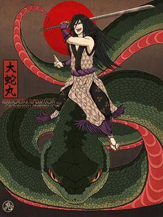Naruto - Orochimaru, Lord of Serpents