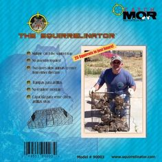 Rugged Ranch Products SQRTO Squirrelinator Trap without Basin by Rugged Ranch Products. $50.90. No more spreading costly baits. Multi-Catch Live Trap. 0. Catch up to 25 Squirrels in just hours. The Squirrelinator is a unique, one-of-a-kind, multi-catch squirrel trap that can catch dozens of squirrels in only a matter of hours. No more spreading costly baits that can potentially harm other animals and the environment.