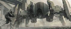 Drone Encounter by Ian Jun Wei Chiew   Sci-Fi   2D   CGSociety