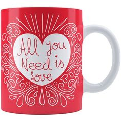 Caneca Personalizada All You Need Is Love