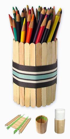 Art Projects for Kids: Father's Day Pencil Holder
