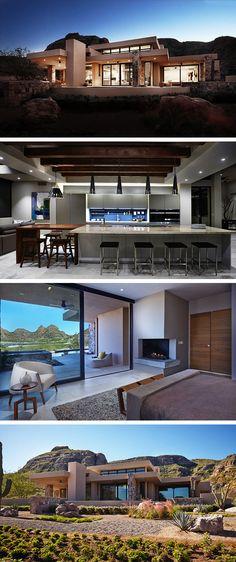 Danzante Bay Villa by Kevin B Howard Architects in Baja California Sur, Mexico