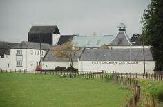 Fettercairn distillery....