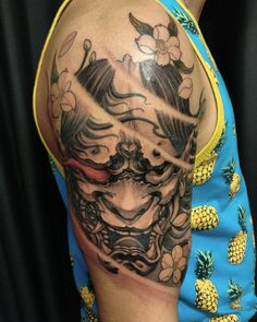 Hannya completed. #hannya #chronicink #asiantattoo #asianink #irezumi #tattoo