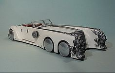 """Love at first sight, love the Nautilus as well. Nemo's """"Automobile """" from League of Extraordinary Gentlemen."""