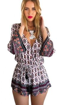 #boho #sexy #rompers #summer #party #beach