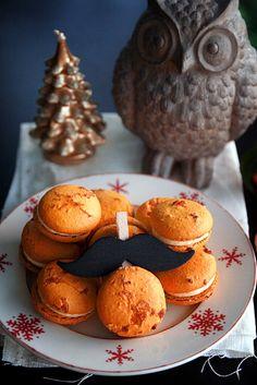 macarons à la clémentine corse (d'après une recette de Pierre Hermé)