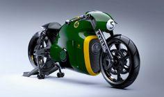 Modelo motor 'emprestado' da KTM RC8 - Lotus Motorcycles/Divulgação