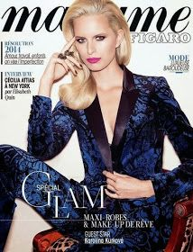 Über Fashion Marketing: Karolina Kurkova na capa da Madame Figaro