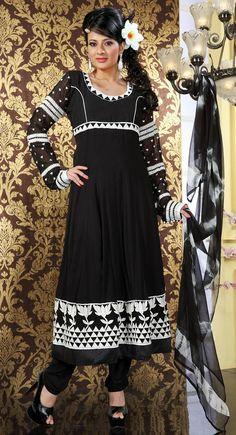 Exotic Black Salwar Kameez