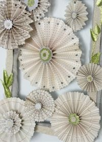 Use all the gorgeous paper you've been stockpiling to make lovely pinwheels for your home. Simply by folding paper, you can create a gorgeous piece of DIY art. Book Crafts, Diy And Crafts, Arts And Crafts, Diy Paper, Paper Art, Paper Crafts, Origami, Diy Projects To Try, Craft Projects