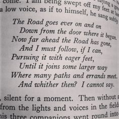 Continuation of Bilbo's poem from The Hobbit
