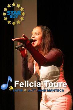Jazz Saengerin Felicia Toure von der Latin und Jazzband Manteca, Star Buy, Demo Musik und Konzerte buchen