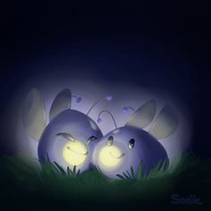 Phosphor Slimes by Saaiie on @DeviantArt