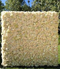 Kanye West gives Kim Kardashian a wall of flowers for Mother's Day.