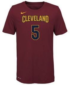 Nike J.r. Smith Cleveland Cavaliers Icon Name & Number T-Shirt, Big Boys (8-20) - Red XL