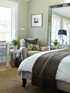 Beautiful Bedrooms: 15 Shades of Gray | HGTV