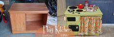 Play kitchen, cool idea
