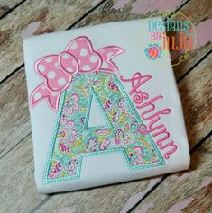 Embroidery Machine Bow Alpha Set Applique by MunchkymsDesign on Etsy - Baby Applique, Embroidery Monogram, Applique Embroidery Designs, Machine Embroidery Applique, Embroidery Fonts, Applique Patterns, Ribbon Embroidery, Embroidery Blanks, Embroidery Ideas