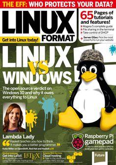 Linux Format. #Linux vs. #Windows.