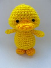"Yellow Duckling - Free Amigurumi Pattern - PDF File click "" download "" or "" free Ravelry download """