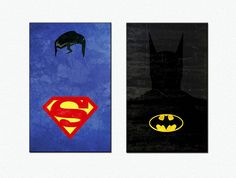 Superheroes Poster  Justice League Canvas Print by Rakunsell, $19.50