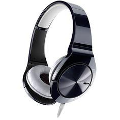 Pioneer SE-MJ751 design hoofdtelefoon zwart #baxdroomstudio