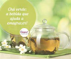 Sabe o que é ótimo para se aquecer no friozinho? Um chá quente! E que tal escolher um chá que auxilie no aceleramento do metabolismo, contribuindo para o emagrecimento? #dicaCampesí
