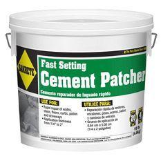 Sakrete 10 Lb Fast Setting Cement Patcher 60205004 In 2020 Cement Concrete Diy Home Repair
