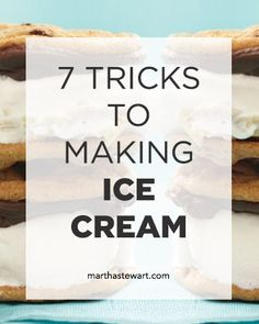 7 Tricks to Making Your Own Ice Cream - Say so long to overpriced pints! Breeze through our seven simple tips to see how easy it is to make homemade ice cream.