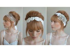 diy wedding headband - Google Search