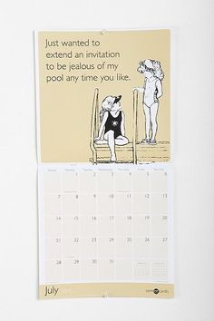 Some E Cards 2013 Wall Calendar By Time Factory