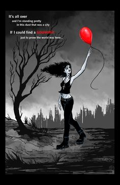 Death - 99 Red Balloons by ~AmandaRodgers on deviantART