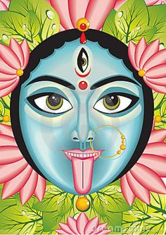 when our lives seem as though they are out of control, this is the Goddess Kali telling us that we have not chosen the right path. Through Kali's strength, we are forced out of complacency and fear to find the right path for ourselves.