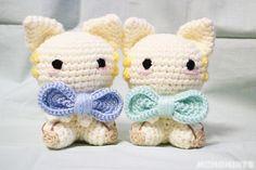 Custom Amigurumi Cats Made Safe for Babies with Baby Yarn