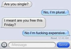 This person who's not messing around. | 21 People Who Don't Have Time For Your Flirtatious Texting