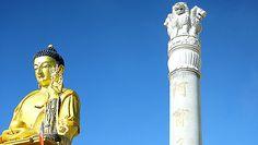 #China: #Buddhist stupa renovated, now has Ashoka Pillar